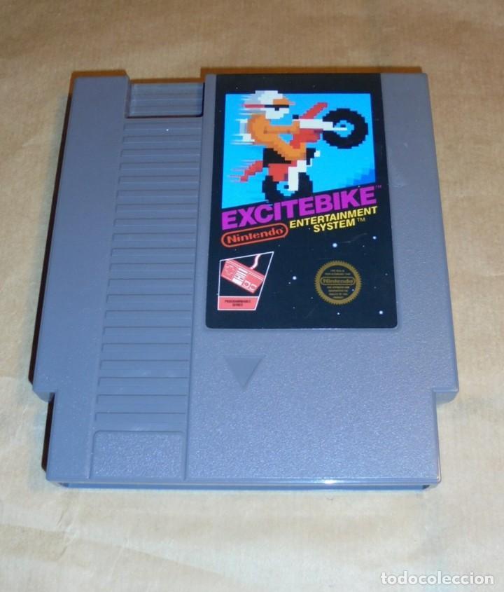 Excitebike Nes Juego Nintendo Entertainme Comprar