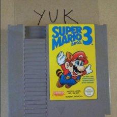 Videojuegos y Consolas: SUPER MARIO BROS 3 -- JUEGO PARA NINTENDO NES PAL ESP ESPAÑA CARTUCHO. Lote 132941334