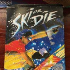 Videojuegos y Consolas: SKI OR DIE-NINTENDO NES. Lote 133100742