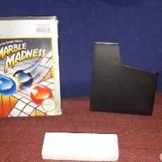 Videojuegos y Consolas: CAJA ORIGINAL MARBLE MADNESS PARA NINTENDO NESS. Lote 133678853