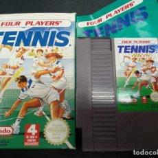 Videojogos e Consolas: TENNIS PARA NINTENDO NES VERSIÓN ESPAÑOLA ESP COMPLETO. Lote 133800738