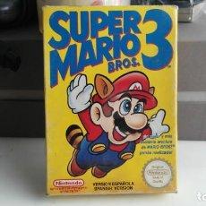 Videojuegos y Consolas: JUEGO PAA LA NINTENDO NES ORIGINAL AL 100% SUPER MARIO BROS 3. Lote 133803062