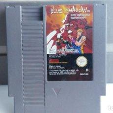 Videojuegos y Consolas: JUEGO PAA LA NINTENDO NES ORIGINAL AL 100% BLUE SHADOW. Lote 133803798
