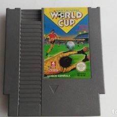 Videojuegos y Consolas: JUEGO PAA LA NINTENDO NES ORIGINAL AL 100% WORLD CUP . Lote 133804670