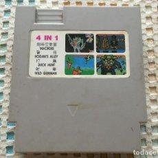 Videojuegos y Consolas: MACROSS HOGAN'S ALLEY DUCK HUNT WILD GUNMAN NES NINTENDO 1 4 IN 1 KREATEN CARTUCHO. Lote 134125330