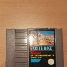 Videojuegos y Consolas: EXCITE BIKE. NINTENDO NES. Lote 135423722