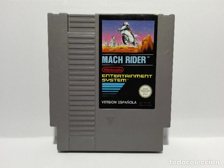MACH RIDER NINTENDO NES (Juguetes - Videojuegos y Consolas - Nintendo - Nes)
