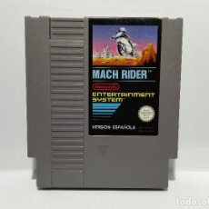Videojuegos y Consolas: MACH RIDER NINTENDO NES. Lote 135819338