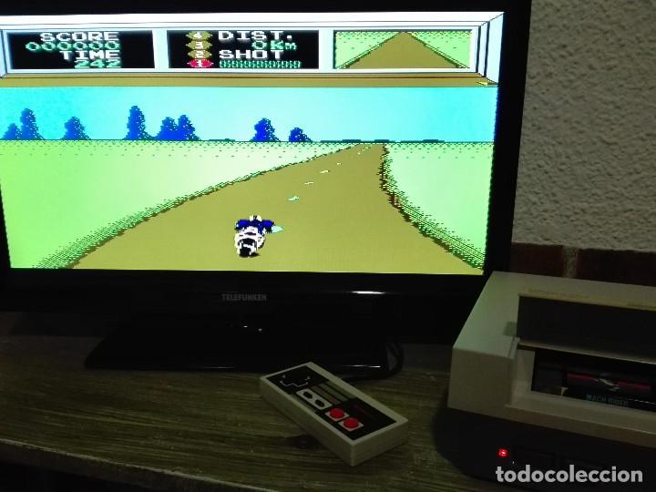Videojuegos y Consolas: Mach Rider Nintendo NES - Foto 5 - 135819338