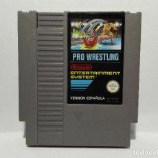 Videojuegos y Consolas: PRO WRESTLING NINTENDO NES. Lote 135819550