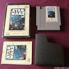Videojuegos y Consolas: STAR WARS NINTENDO NES ! MITICO COMPLETO Y DIFICILISIMO ! ESCUCHO OFERTAS SERIAS!. Lote 136131553
