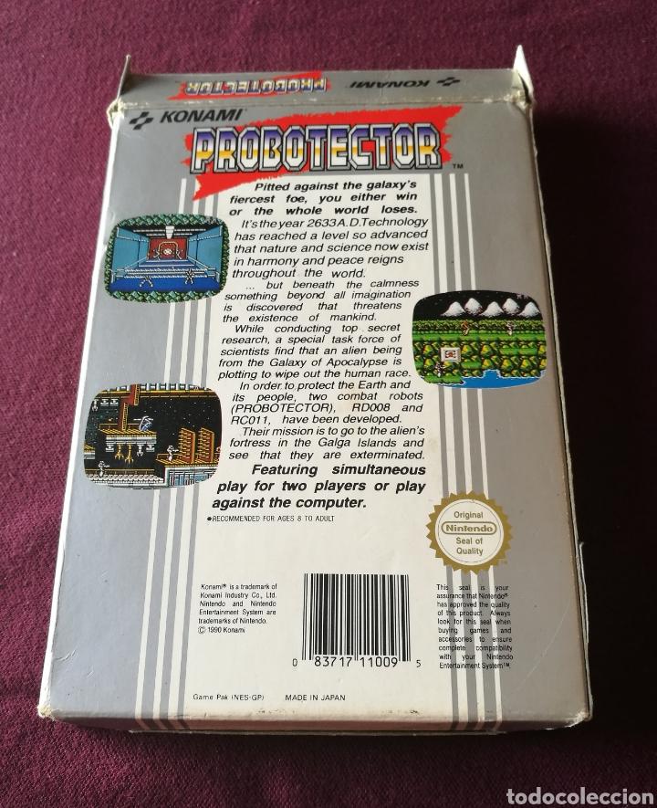 Videojuegos y Consolas: PROBOTECTOR NINTENDO NES ! MITICO BUEN ESTADO Y DIFICILISIMO ! ESCUCHO OFERTAS SERIAS! - Foto 6 - 136138102