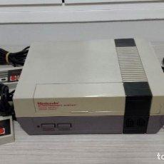 Videojuegos y Consolas: NES ORIGINAL COMPLETA CON 2 MANDOS + 10 JUEGOS (NINTENDO). Lote 136349202