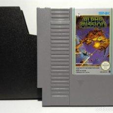 Videojuegos y Consolas: ALPHA MISSION NINTENDO NES. Lote 136438690
