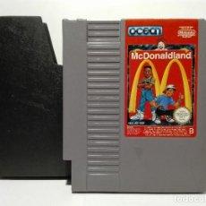 Videojuegos y Consolas: MC DONALD LAND NINTENDO NES MC KIDS. Lote 136439058