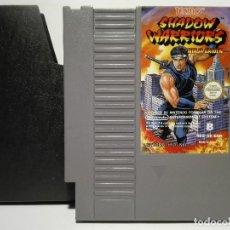Videojuegos y Consolas: SHADOW WARRIORS NINJA GAIDEN NINTENDO NES. Lote 136439274