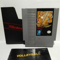 Videojuegos y Consolas: VOLLEYBALL + MANUAL NINTENDO NES. Lote 136439486