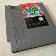 Videojuegos y Consolas: BUBBLE BOBBLE. NINTENDO NES. Lote 136445034