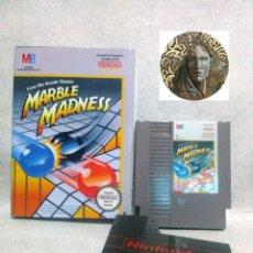 Videojuegos y Consolas: NINTENDO NES *MARBLE MADNESS* PAL A - INGLES .... CON CAJA.. Lote 136936862