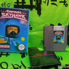 Videojuegos y Consolas: JUEGO *CAPTAIN SKYHAWK* ... NINTENDO NES PAL A - (USA). Lote 137617410