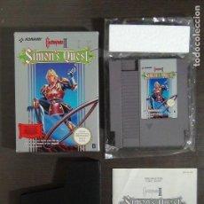 Videojuegos y Consolas: NINTENDO NES - CASTLEVANIA II 2 SIMONS QUEST - COMPLETO. Lote 138062562
