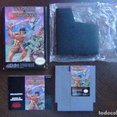 Videojuegos y Consolas: WIZARDS & WARRIOS NES COMPLETO - COMO NUEVO!!!!. Lote 138658498