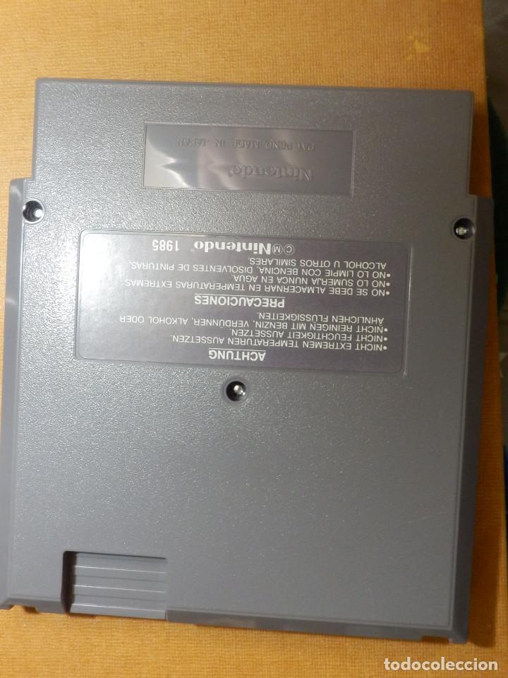 Videojuegos y Consolas: Antiguo Juego de Consola para Nintendo NES - Mach Rider - Versión Española - C/ Funda - Foto 3 - 229549715