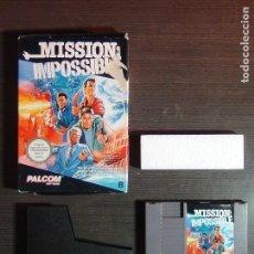 Videojuegos y Consolas: JUEGO NINTENDO MISSION IMPOSIBLE NES PAL. Lote 138930094