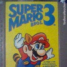 Videojuegos y Consolas: NES SUPER MARIO 3 CARTUCHO PROBADO NINTENDO VERSION ESPAÑOLA. Lote 139076966