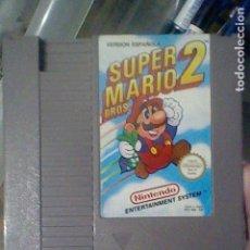 Videojuegos y Consolas: NES SUPER MARIO 2 CARTUCHO PROBADO NINTENDO VERSION ESPAÑOLA *. Lote 139077906