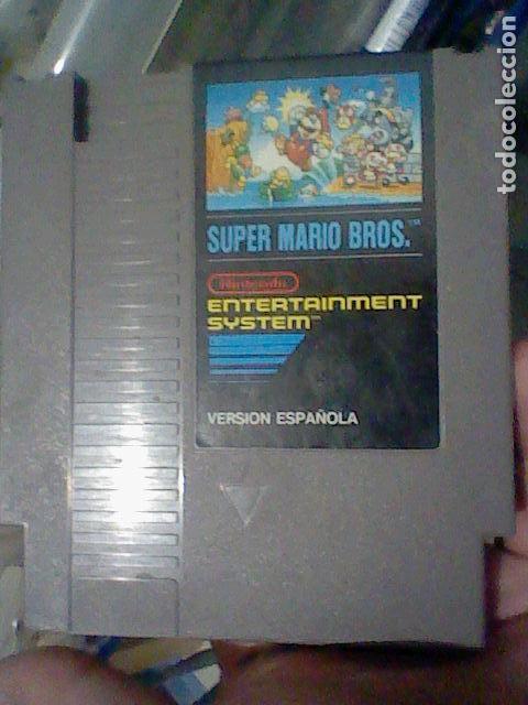 NES SUPER MARIO CARTUCHO PROBADO NINTENDO VERSION ESPAÑOLA * (Juguetes - Videojuegos y Consolas - Nintendo - Nes)