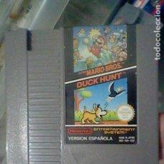 Videojuegos y Consolas: NES DUCK HUNT MARIO BROS CARTUCHO PROBADO NINTENDO VERSION ESPAÑOLA NES MH ESP. Lote 139083370