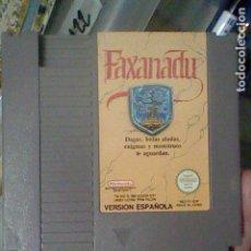 Videojuegos y Consolas: NES FAXANADU CARTUCHO PROBADO NINTENDO VERSION ESPAÑOLA NES FX ESP. Lote 139084674