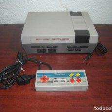 Videojuegos y Consolas: CONSOLA CLONICA NINTENDO NES + MANDO - FUNCIONA - VER FOTOS DETALLES. Lote 139115430