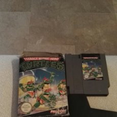 Videojuegos y Consolas: TENAGE MUTANT HERO TURTLES. NES. Lote 139662578