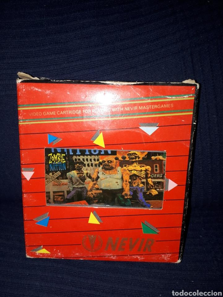 ZOMBIE NATION DIFICILISIMO JUEGO CLONICO PARA NINTENDO NES (Juguetes - Videojuegos y Consolas - Nintendo - Nes)