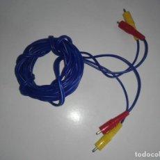Videojuegos y Consolas: CABLE RCA ORIGINAL DE AUDIO Y VÍDEO DE NINTENDO NES RF TV ANTENA. Lote 241435625