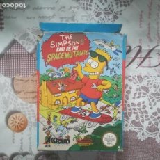 Videojuegos y Consolas: THE SIMPSONS BART VS THE SPACE MUTANTS NES. Lote 140686994