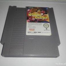 Videojuegos y Consolas: WORLD CHAMP JUEGO DE BOXEO PARA NINTENDO NES PAL ESP ESPAÑA CARTUCHO. Lote 141554594