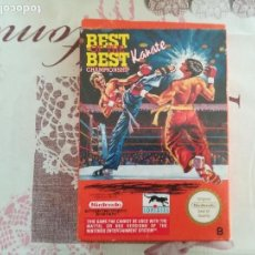 Videojuegos y Consolas: BEST OF THE BEST CHAMPIONSHIP KARATE NES. Lote 142100622