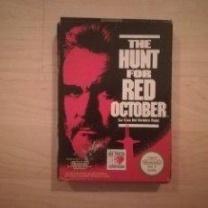 Videojuegos y Consolas: THE HUNT FOR RED OCTOBER (LA CAZA DEL OCTUBRE ROJO) NINTENDO NES. Lote 142204850
