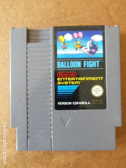 JUEGO BALLOON FIGHT. NINTENDO. 1985. VERSION ESPAÑOLA. SIN CAJA. (Juguetes - Videojuegos y Consolas - Nintendo - Nes)