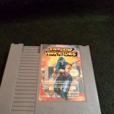 Videojuegos y Consolas: NINTENDO NES SHADOW WARRIORS PAL B FRA. Lote 142441452