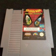Videojuegos y Consolas: NINTENDO NES SPIDER MAN RETURN OF THE SINISTER SIX. Lote 142616076