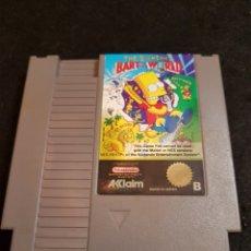 Videojuegos y Consolas: NINTENDO NES THE SIMPSONS BART VS THE WORLD PAL B. Lote 142616546