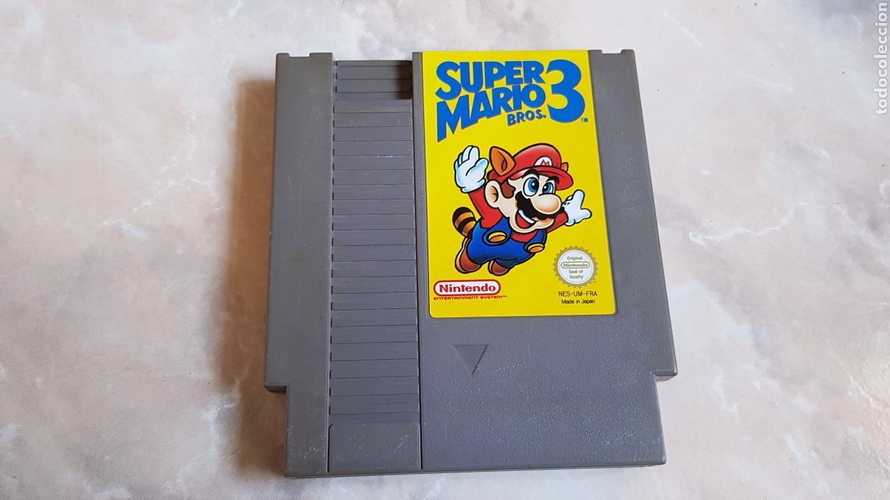 JUEGO CARTUCHO NINTENDO NES SUPER MARIO BROS 3 (Juguetes - Videojuegos y Consolas - Nintendo - Nes)