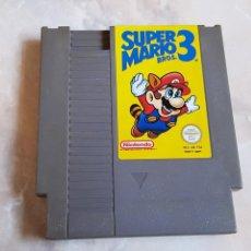 Videojuegos y Consolas: JUEGO CARTUCHO NINTENDO NES SUPER MARIO BROS 3. Lote 142731194
