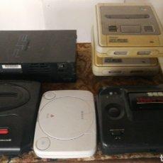Videojuegos y Consolas: LOTE DE 6 CONSOLAS. Lote 142819732