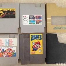 Videojuegos y Consolas: LOTE PACMAN SUPER MARIO BROS 3..PARA NES, NASA, YESS... Lote 143242314