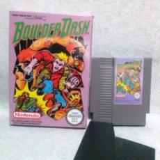 Videojuegos y Consolas: JUEGO NINTENDO NES *BOULDER DASH* ... PAL ESPAÑA - EN BUEN ESTADO.. Lote 143851178